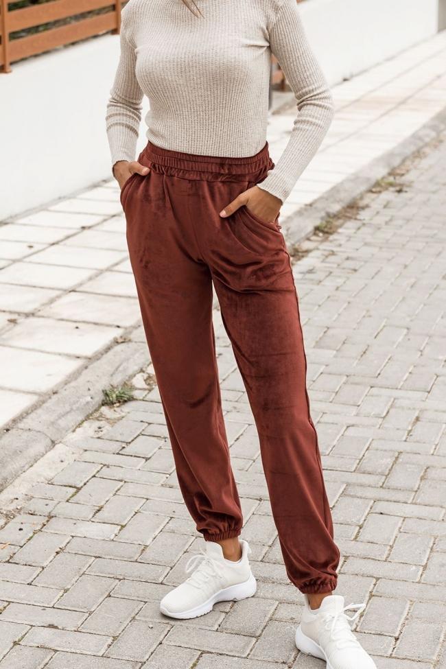 Παντελόνι Velvet